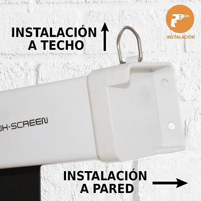 Pantalla de proyeccion electrica Luxscreen 110