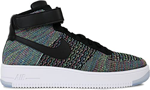 classic styles buy los angeles Nike Air Force 1 Ultra Flyknit Mi Junior Baskets - Rose ...
