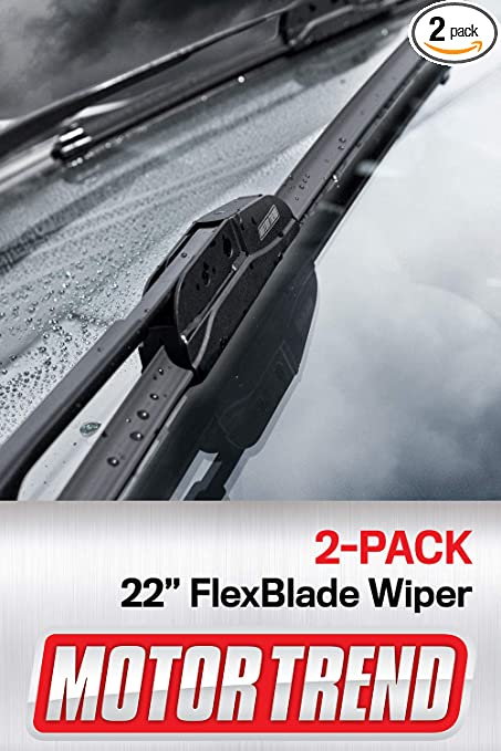 """Windshield Wiper Blades Motor Trend 24/"""" /& 20/"""" All Season Direct Connect-Set of 2"""