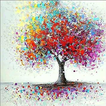 Amygline 5d Diamant Malerei Gemalte Baum Eule Diy Stickerei