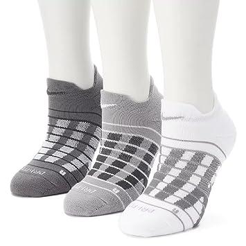 Nike - Juego de 3 unidades. Block Graphic - Calcetines acolchados, 6-10