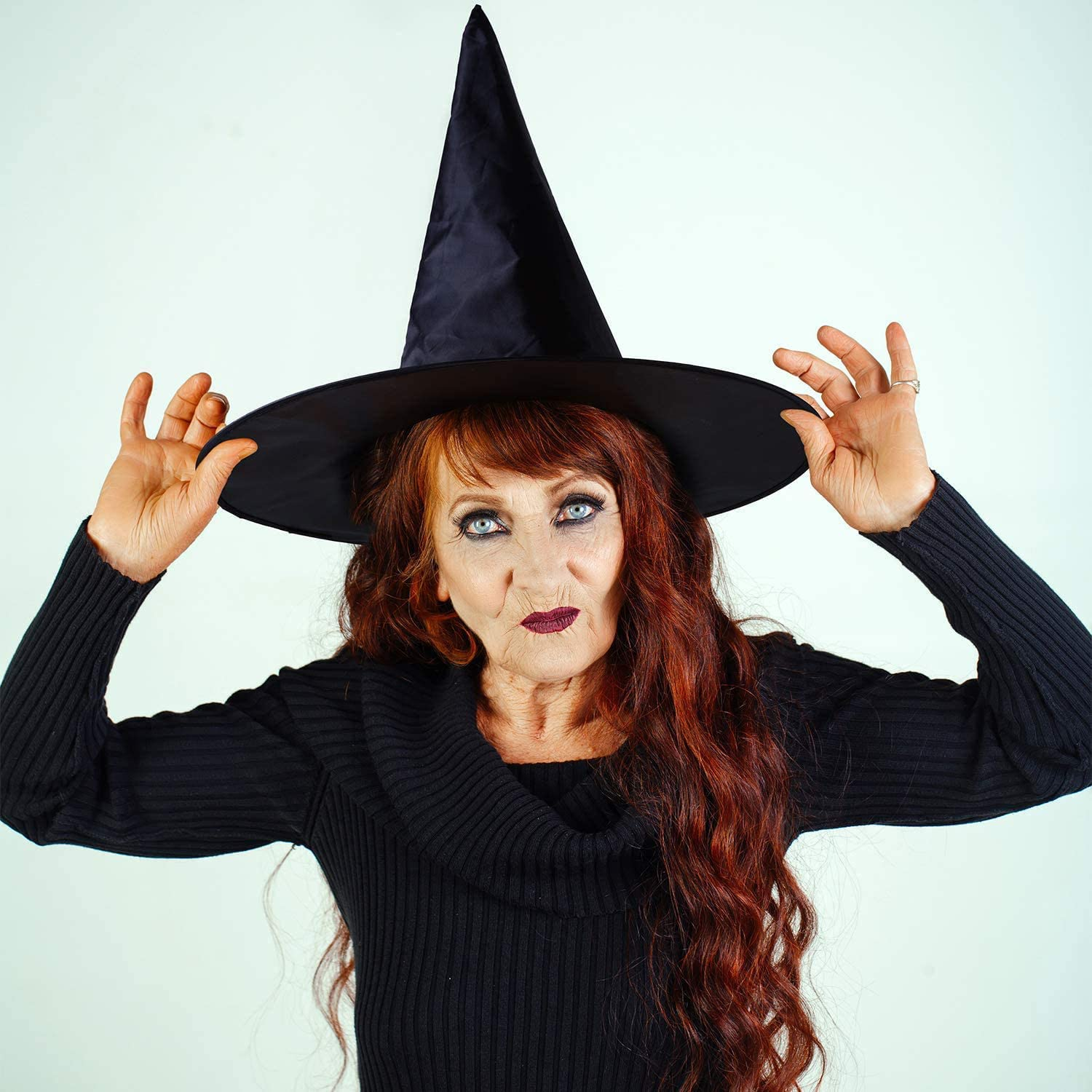 Witch Hats Halloween Costume Accessory for Halloween Party Decoration (8Pcs )