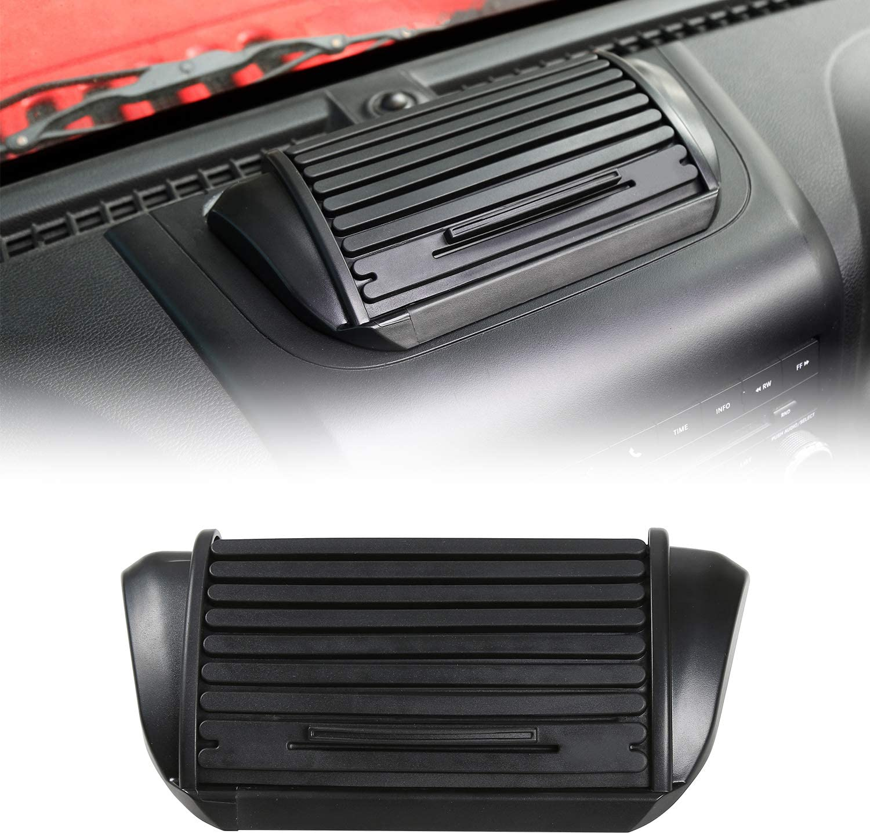 RT-TCZ for Jeep JK Interior Accessories Dashboard Storage Organizer Dash Panel Tray Box for 2011-2018 Jeep Wrangler JK JKU 2-door/4-door Sahara Sport Rubicon Accessory
