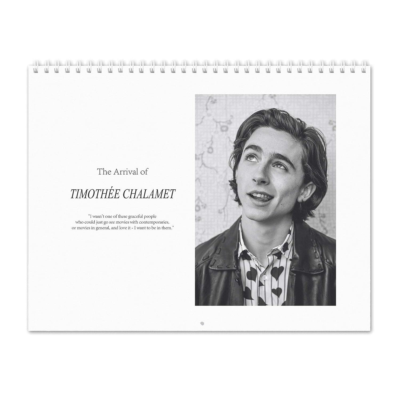 Timothée Chalamet - The pared Arrival of 2019 Calendario de pared The d9d909