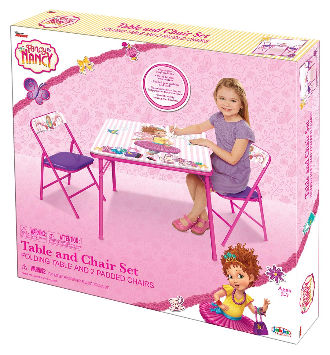 2 Disney Princess 40038 New Fall 2018 Explore Your World Activity Table Chairs