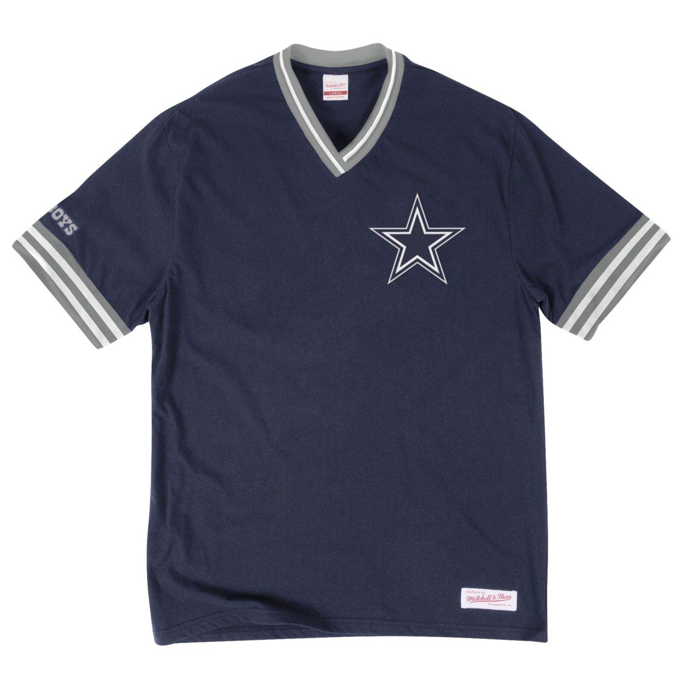 Amazon.com   Dallas Cowboys NFL Men s Overtime Win Vintage V-Neck T-Shirt  (Medium)   Sports   Outdoors 16e002457