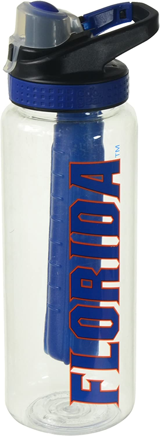 Cool Gear 114-06127 University of Florida Water Bottle, 32 oz, Blue/Orange