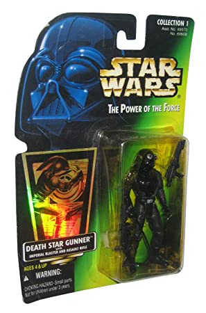 1996 Hasbro Star Wars El Poder de la fuerza verde tarjeta de ...