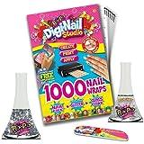 Digi-nail Studio Starter Pack Nail Kit, One Size, Clear/Sparkle