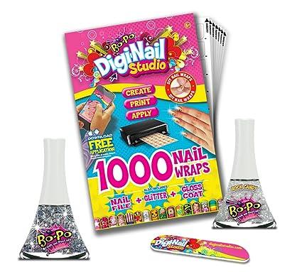 Digi Nail Studio Starter Pack Kit One Size Clear Sparkle