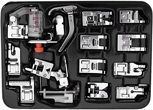 Juego de prensatelas para máquina de coser de 1-4 (cuarto de ...