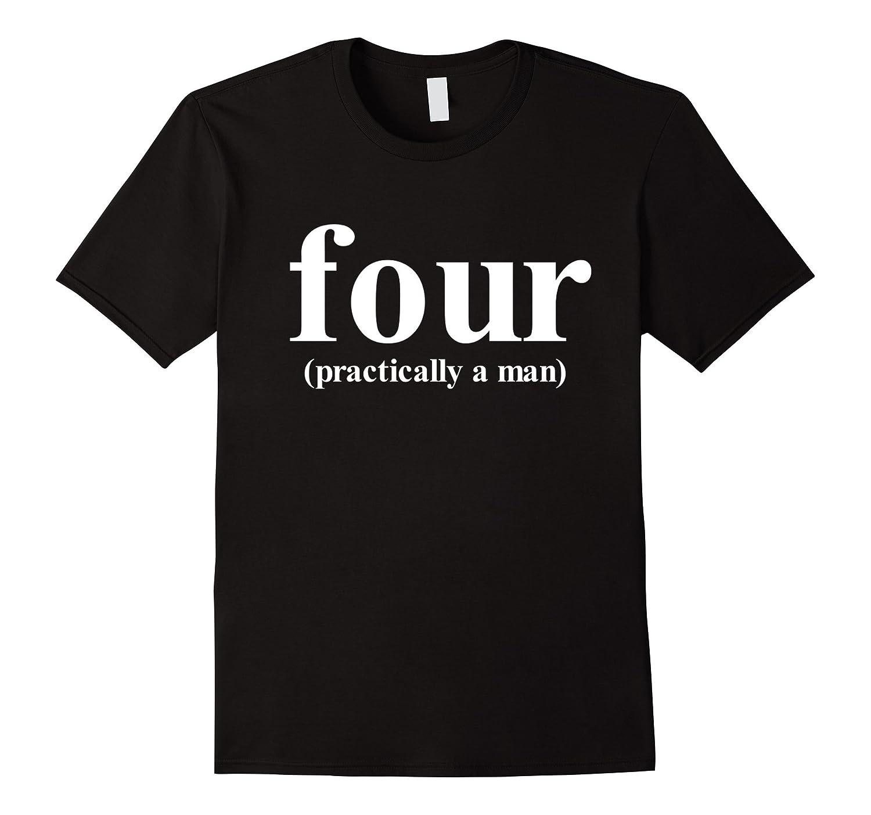 588c07d0 4th Birthday Shirt for Girls Boys four Year Old-BN – Banazatee