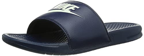 98eeb40fe676ab Image Unavailable. Image not available for. Colour  Nike Men s Benassi JDI  Slide Sandal Midnight Navy Windchill ...