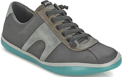 CAMPER Peu Slastic 18877 Grey Green Mens Leather Trainers Shoes-45 ... a526198f13