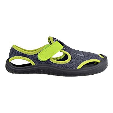 2b889edceaa Nike Sunray Protect (PS) Little Kid s Shoes Dark Grey Wolf Grey Volt