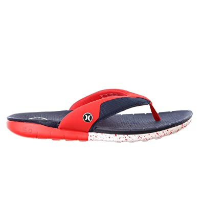 b5d400ff7f0f Hurley Men s Phantom Free Sandal Midnight Navy 9 D US  Amazon.co.uk ...