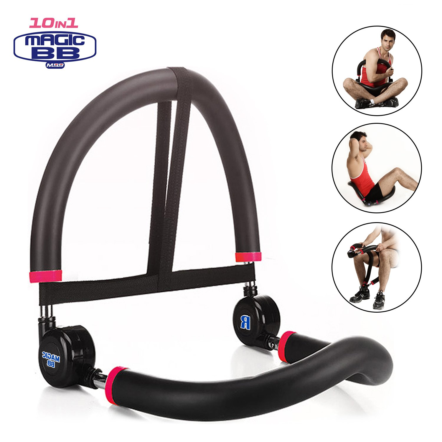 SYOSIN Abdominal Machine for Full Range of Motion Ab & Core Workouts, Home Fitness Equipment for Beginners by SYOSIN