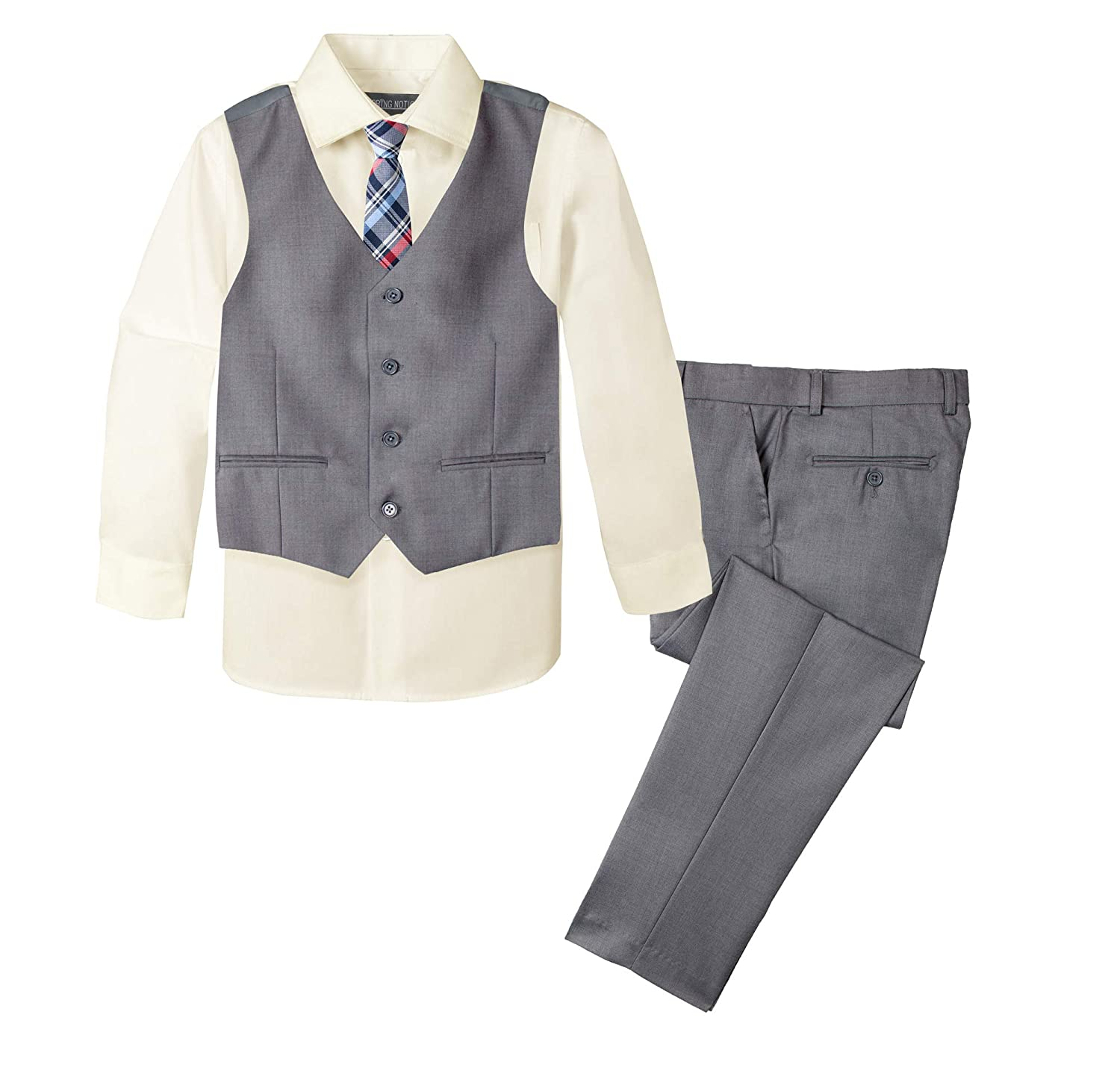 Spring Notion Boys Formal 4-Piece Set Grey