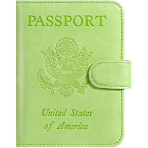 75bfb8376060 Amazon.com   Tossy Wear - Leather Passport Holder for Men and Women ...