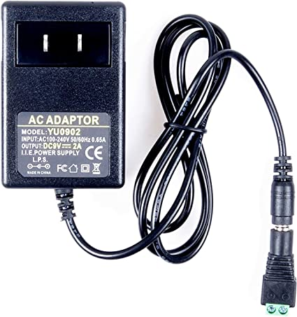 AC Switching power supply DC5V 2.5A Adapter 2500mA Charger US plug 4.0mm x 1.7MM