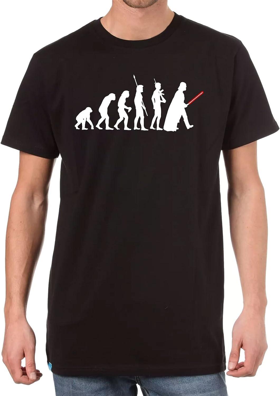 Evolution of Darth Vader Mens Black Comedy Star Wars T-Shirt