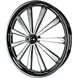 """SMT Machining 26"""" INCH ELLIPTICAL ILLUSION with Single Disc Rotor CUSTOM MOTORCYCLE WHEEL FOR HARLEY TOURING/BAGGER STREETGLIDE ROADKING ROADGLIDE"""