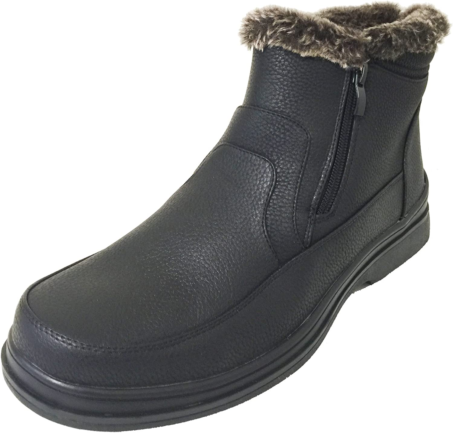 Brixton Mens Rusi 02 Fur Lined Winter Snow Boots
