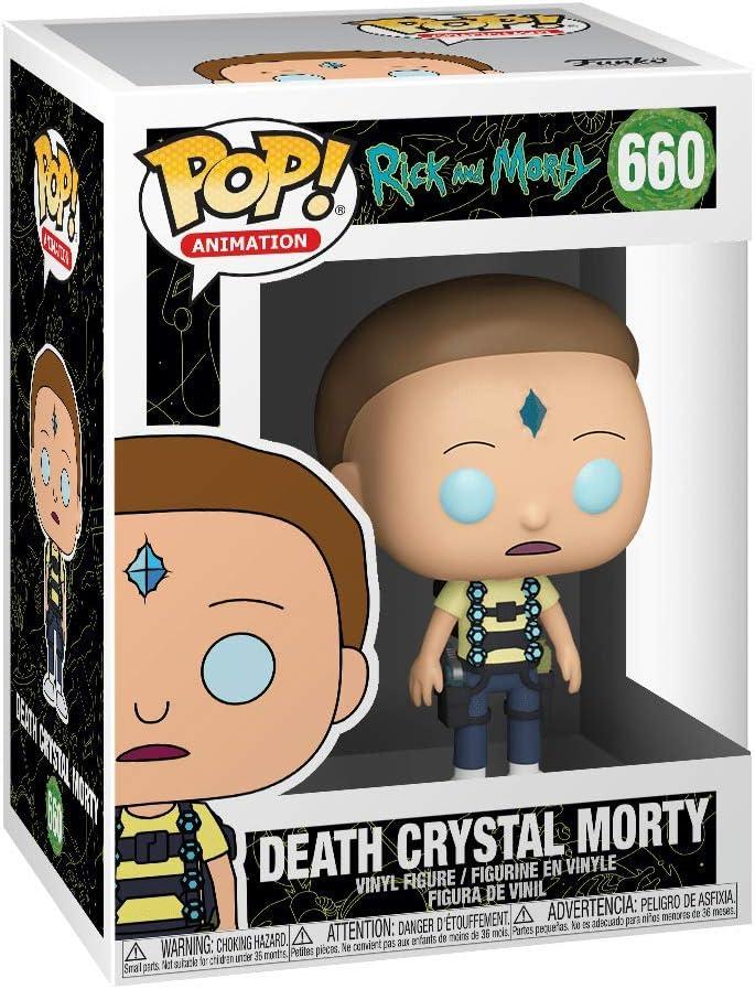 Pop Animation Death Crystal Morty Rick /& Moty