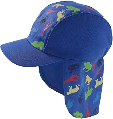 HATLEY BABY BOYS REVERSIBLE UPF50 SUN PROTECTION HAT IN 3 DESIGNS