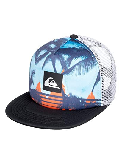 Quiksilver - Gorra Trucker - Niños 2-7 - One Size - Azul: Amazon ...