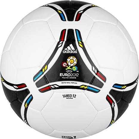 adidas Euro 2012 Replique balón de fútbol (Blanco, Negro) - X16730 ...
