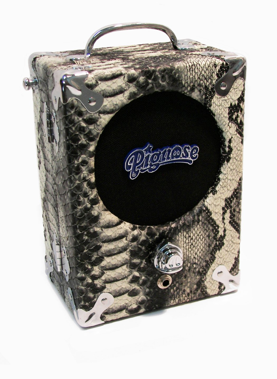 Pignose Industries 7-100SS Classic Guitar Combo Amplifier, Snakeskin