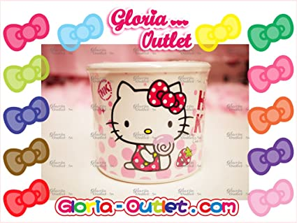 Hello Kitty Tejido Caso Papel higiénico caja soporte contenedor baño hogar