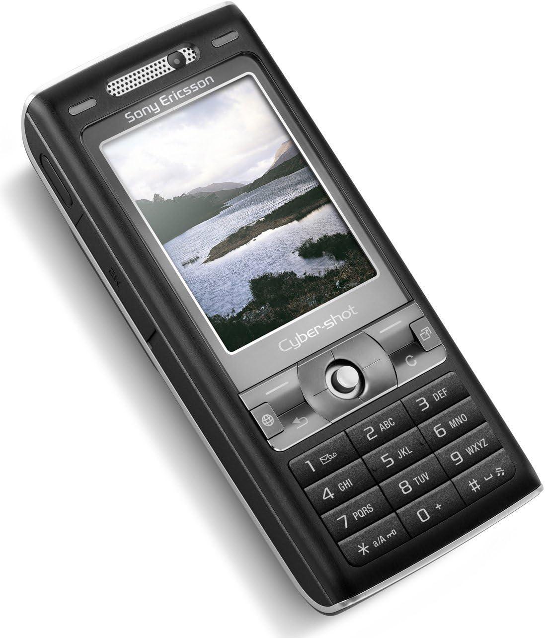 Sony Ericsson K800i Mobiltelefon Umts Gprs Schwarz Amazon De Elektronik