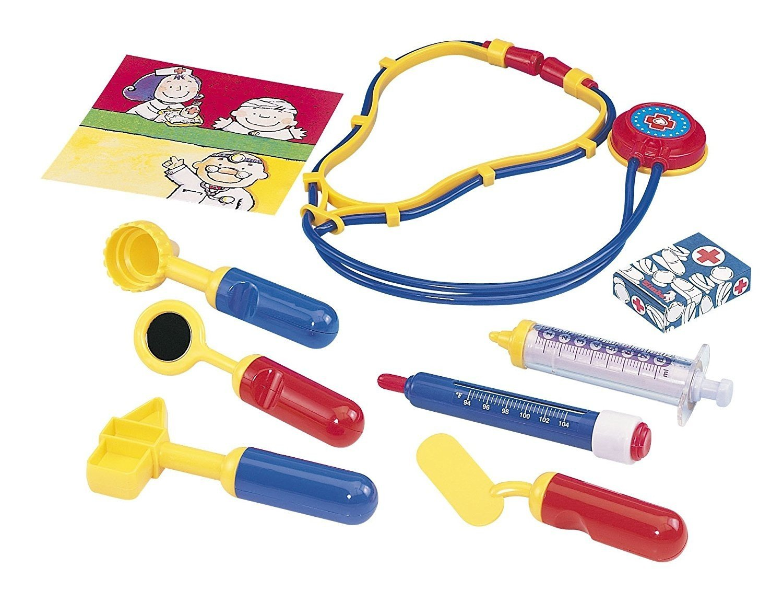 Simba 105549757 - Doktorkoffer 10 Teile, 20 x 13 cm Simba Toys