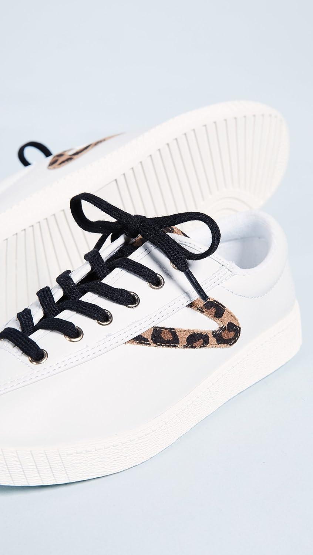 Tretorn Women's Nylite25plus Sneaker B07CYZDCYR 7 B(M) US|Vintage White/Tan Multi