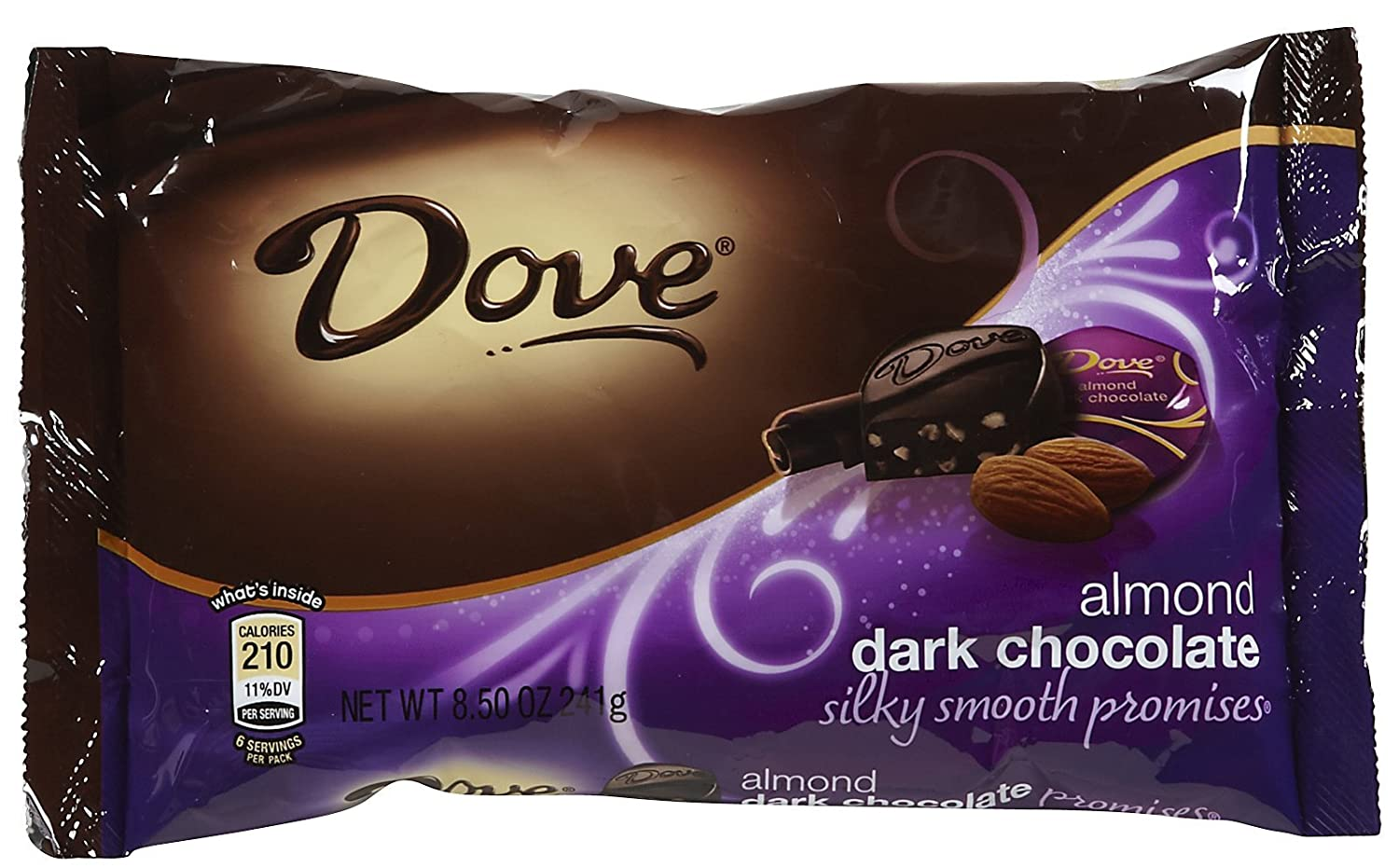 Amazon.com : Dove Chocolate Chocolate Miniatures - Dark Chocolate ...