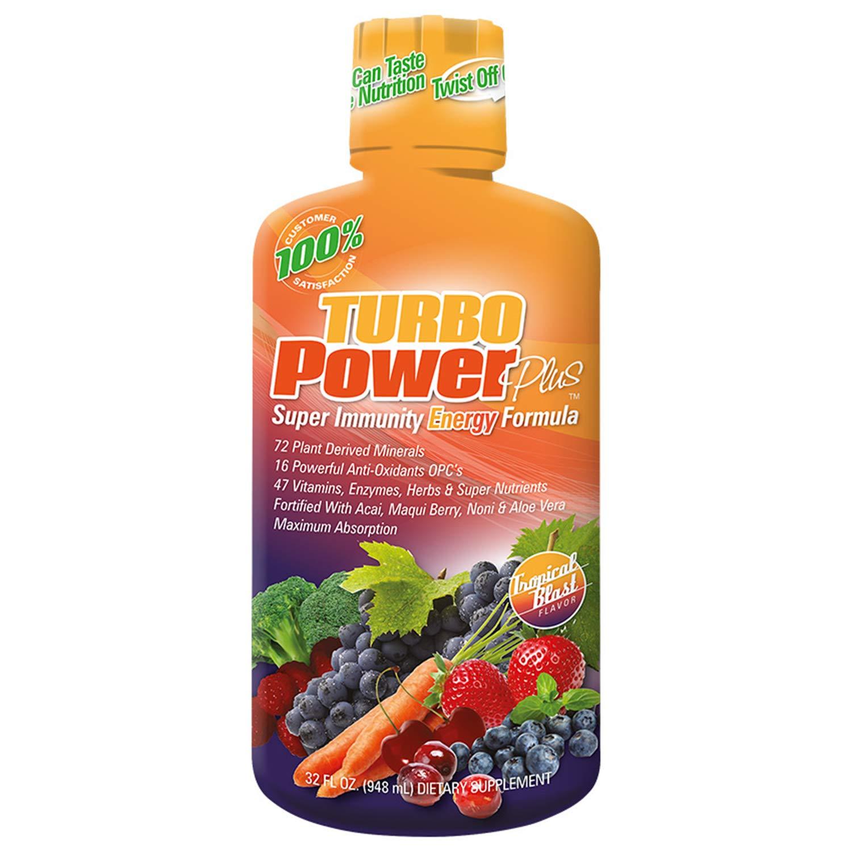 Turbo Power Plus Super Immunity 32 Oz. Liquid Energy Formula