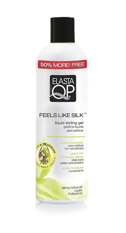 Elasta QP Feels Like Silk Liquid Styling Gel, 12 oz (Pack of 6)