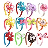 Fashion Headbands Craft Kit for Kids, Girls can Build & Create 12 Unique Designer Hair Bow Accessories with Creativity by Dreamy Accessories