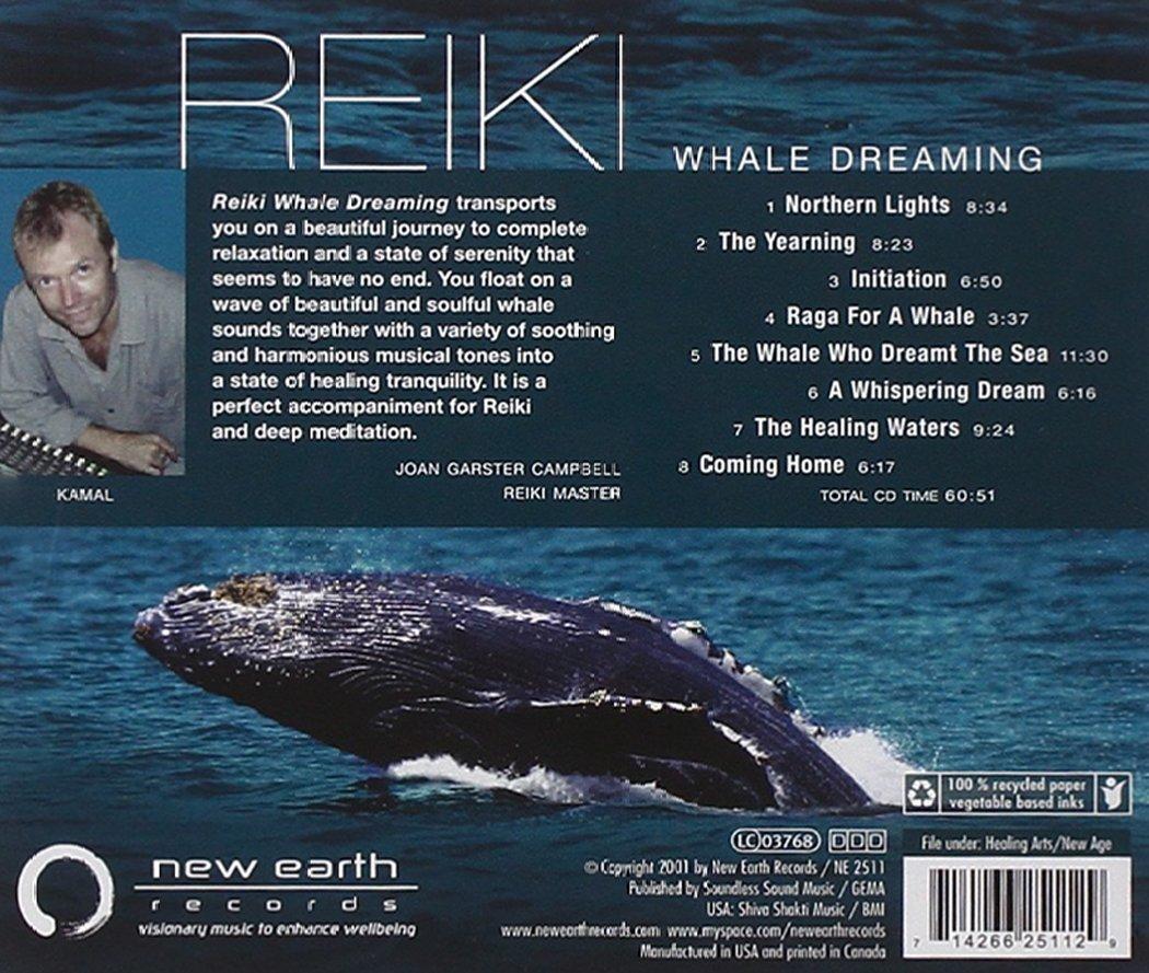 amazon reiki whale dreaming kamal ニューエイジ 音楽