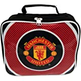 Manchester United FC Official Football Gift Lunch Bag - A Great Christmas / Birthday Gift Idea For Men And Boys