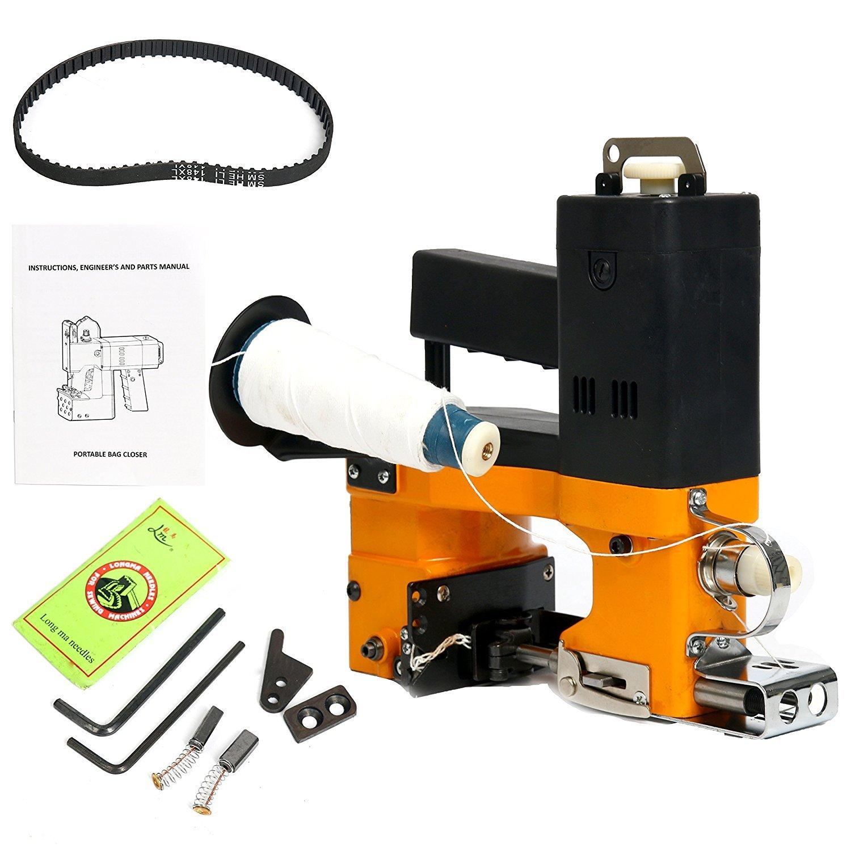 YaeTek 110V Industrial Portable Electric Bag Stitching Closer Seal Sewing Machine Yaemart Corportation