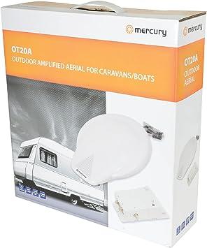 Mercurio Kit de Antena para Camping, Caravana, Barco: Amazon ...