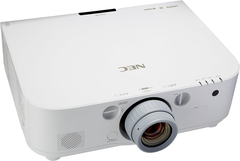 Amazon.com: NEC lúmenes np-pa672 W-6700 1280 x 800 WXGA 6000 ...