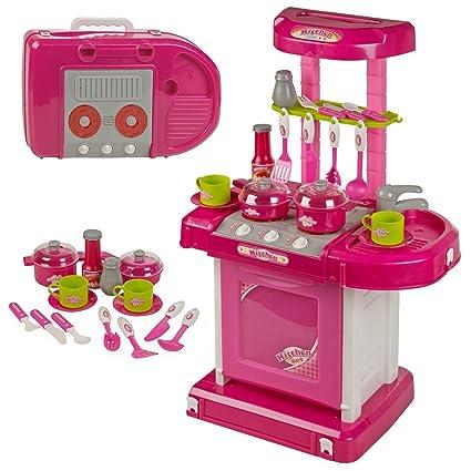 Buy Webby Kids Luxury Battery Operated Kitchen Super Set Multi