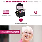 Everything Mary Black & Floral Rolling Scrapbook