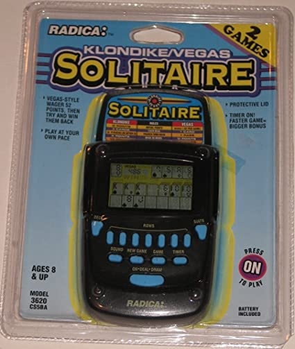 #8 Solitare Handheld Game New In Package