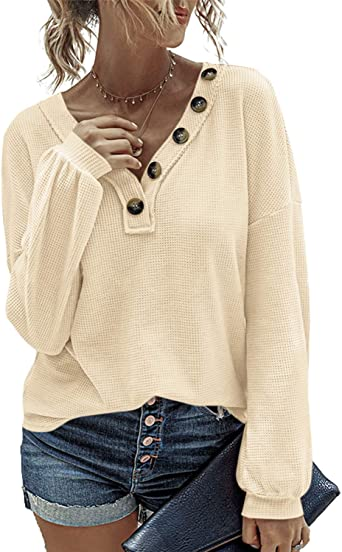 Zanzea Mujer Jersey Punto Suéter Suelto de Informal Larga ...