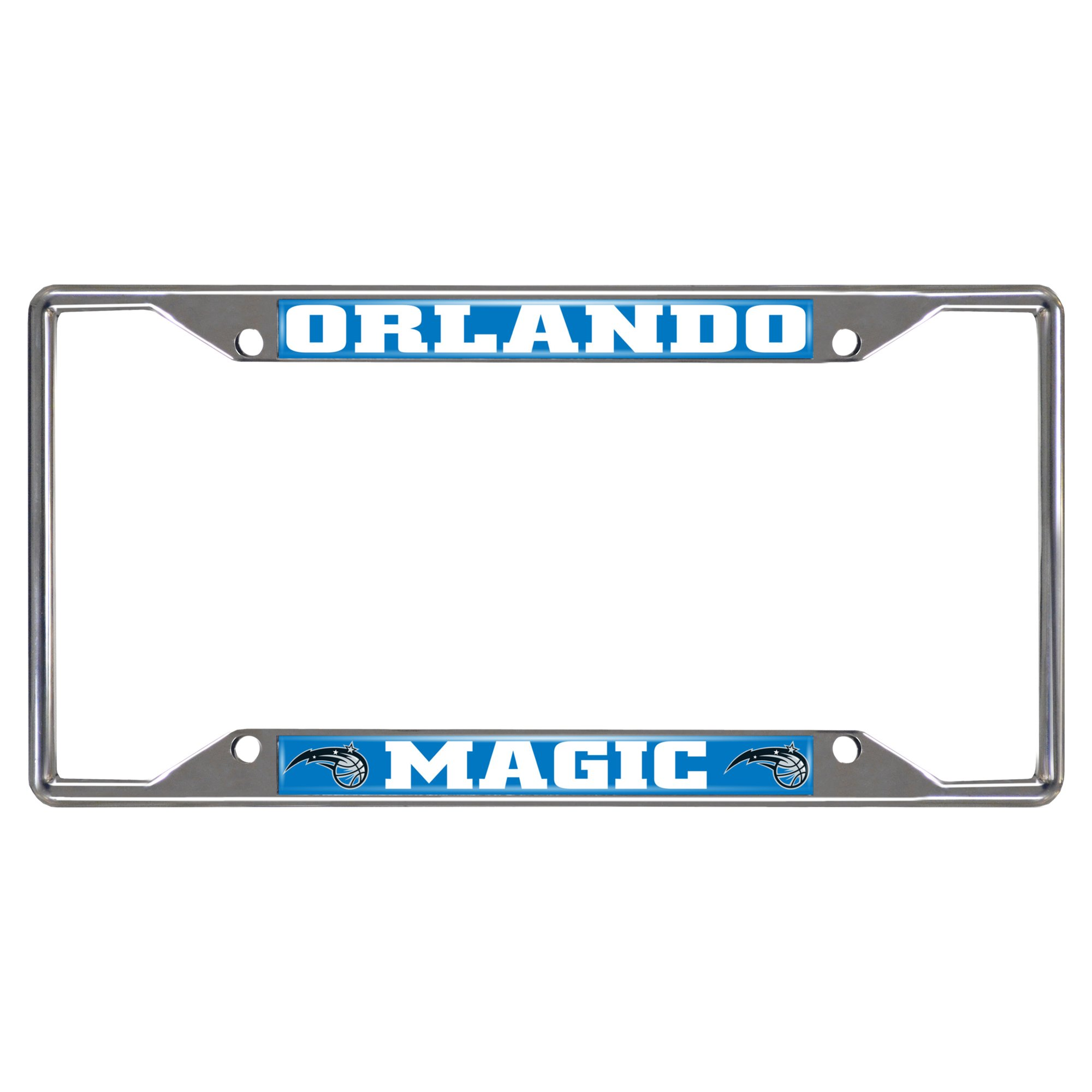 Fanmats NBA Orlando Magic Chrome License Plate Frame